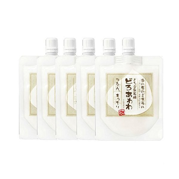 どろあわわ 洗顔 泡 泡洗顔 110g 5個セット 健康コーポレーション|snc