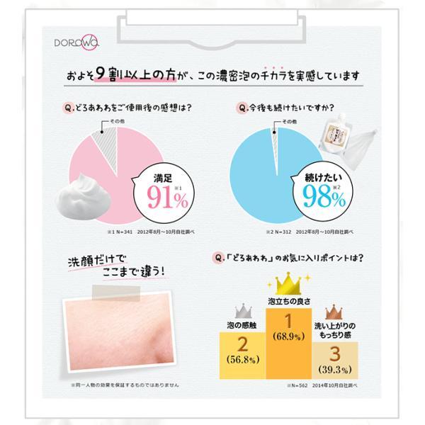どろあわわ 洗顔 泡 泡洗顔 110g 2個セット 健康コーポレーション|snc|12