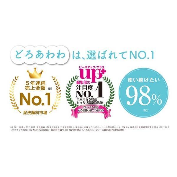 どろあわわ 洗顔 泡 泡洗顔 110g 2個セット 健康コーポレーション|snc|14