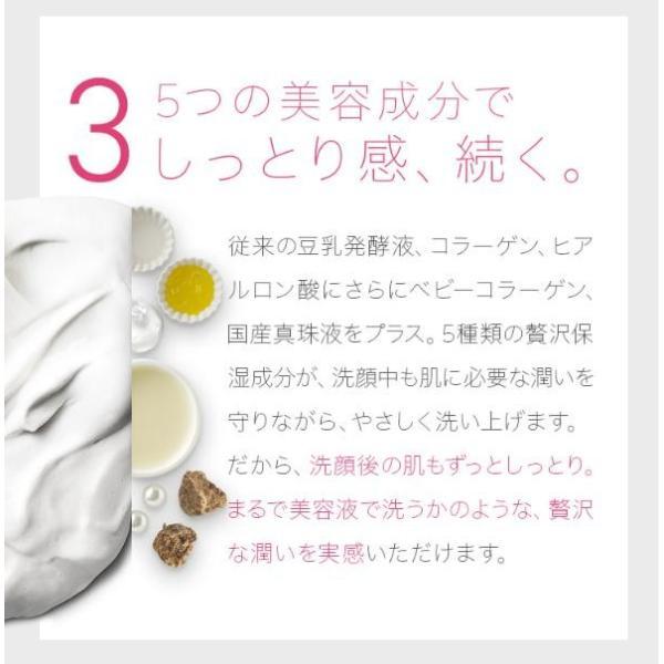 どろあわわ 新 3個セット 洗顔 泡 泡洗顔 110g 泡立てネット 付き 健康コーポレーション|snc|11