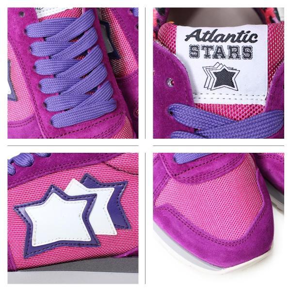 アトランティックスターズ レディース スニーカー Atlantic STARS ジェンマ GEMMA CFG-63VI 靴 ピンク パープル