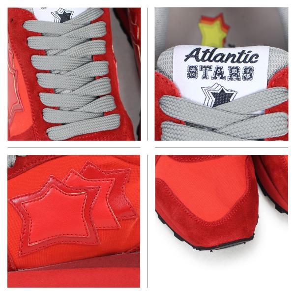 アトランティックスターズ レディース スニーカー Atlantic STARS アレナ ALHENA RFNYNRRN レッド