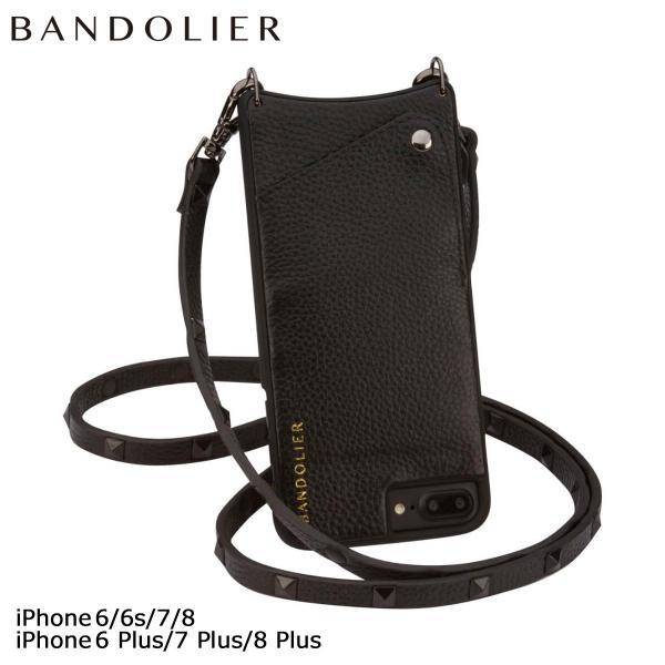 BANDOLIER バンドリヤー iPhone7 7Plus 6s ケース スマホ アイフォン プラス レザー スタッズ メンズ レディース [9/5 新入荷]