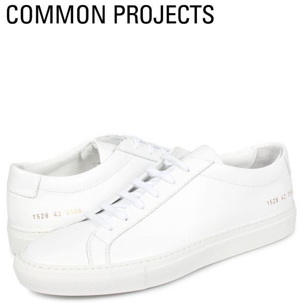 コモンプロジェクト Common Projects アキレス ロー スニーカー メンズ ACHILLES LOW ホワイト 白 1528-0506 [4/2再入荷]|sneak