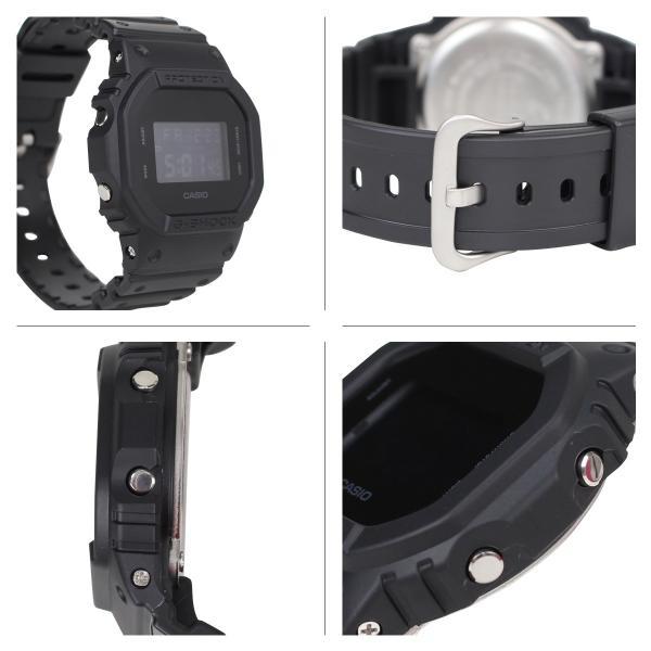 CASIO カシオ G-SHOCK 腕時計 DW-5600BB-1JF SOLID COLORS ジーショック Gショック G-ショック メンズ レディース|sneak|02