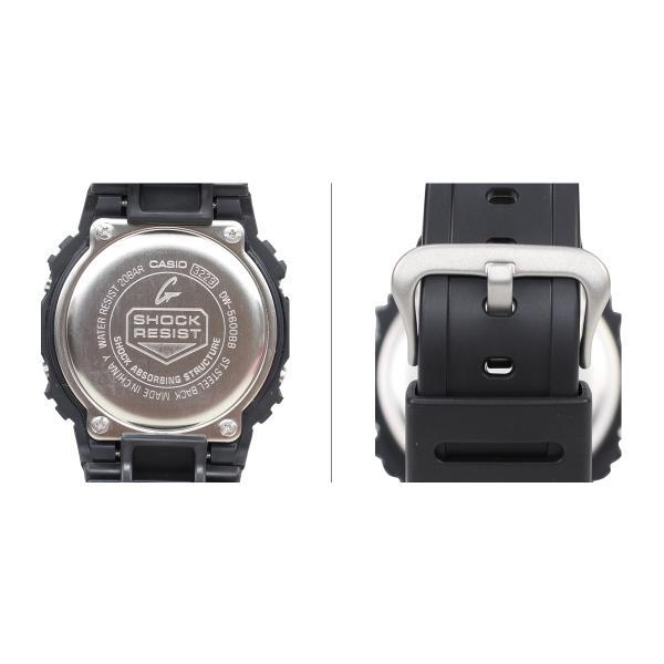 CASIO カシオ G-SHOCK 腕時計 DW-5600BB-1JF SOLID COLORS ジーショック Gショック G-ショック メンズ レディース|sneak|03