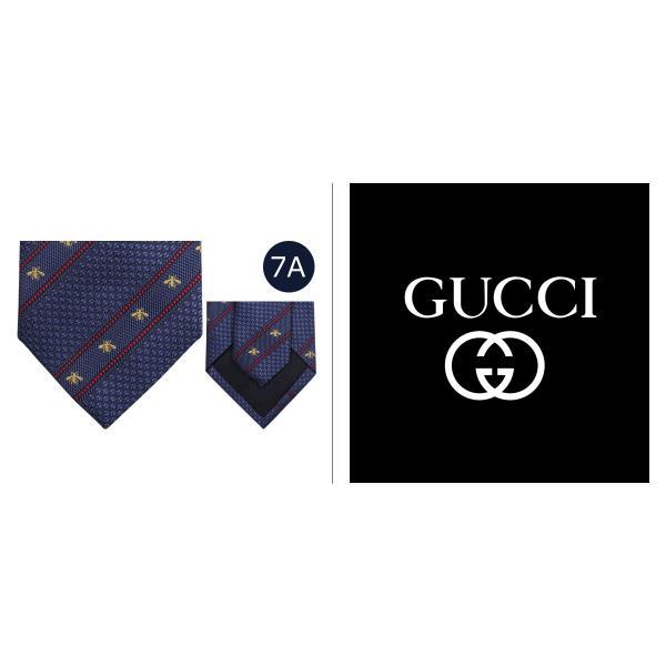 dcab5e1924c7 ... グッチ GUCCI ネクタイ イタリア製 シルク ビジネス 結婚式 TIE メンズ|sneak| ...