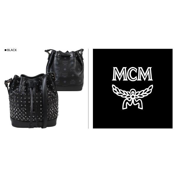 MCM エムシーエム バッグ ショルダーバッグ MWD 4AVI78 BK001 ブラック レディース