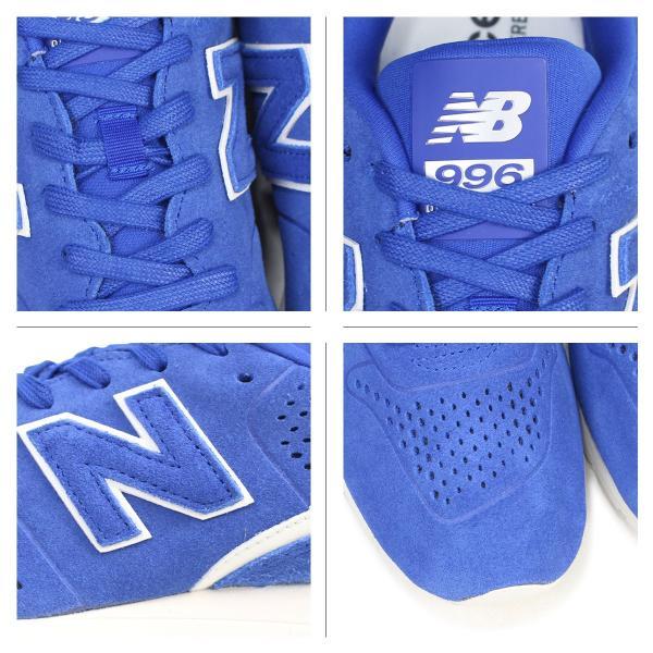 ニューバランス 996 メンズ レディース new balance スニーカー MRL996D6 Dワイズ 靴 ブルー sneak 04