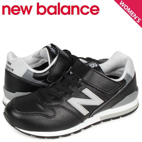 ニューバランスnewbalance996スニーカーレディースキッズMワイズブラック黒YV996LBK