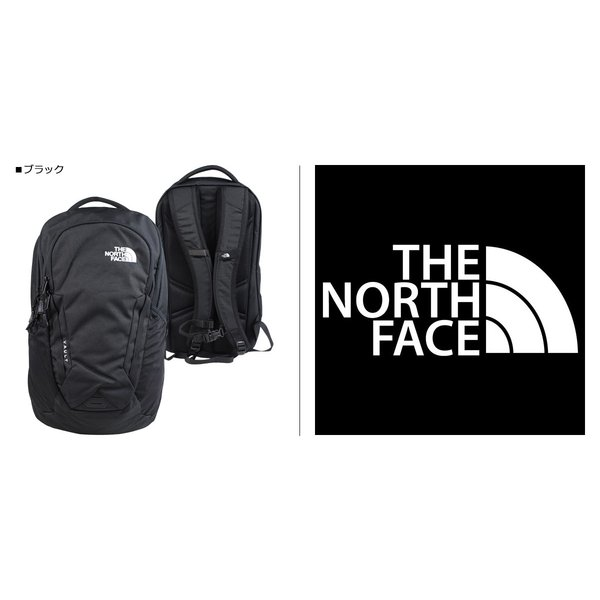 ノースフェイス THE NORTH FACE リュック メンズ バックパック VAULT T93KV9JK3 ブラック