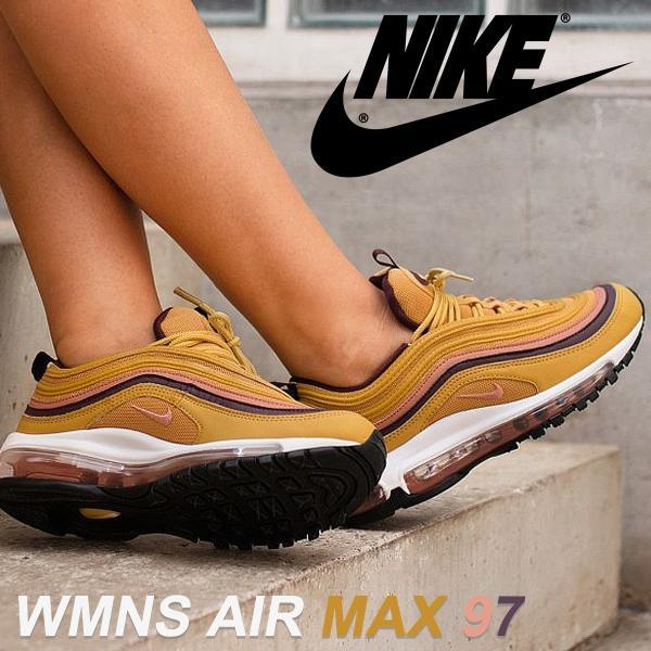 ナイキ NIKE エアマックス97 レディース メンズ スニーカー WMNS AIR MAX 97 921733-700 ゴールド