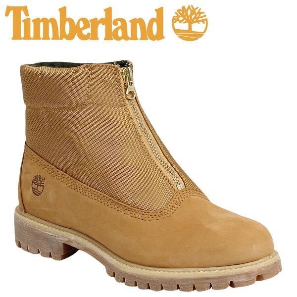 ティンバーランド Timberland メンズ PREMIUM ZIP TOP MILITALY ブーツ プレミアム ジップ トップ ミリタリー 6155B ウィート|sneak