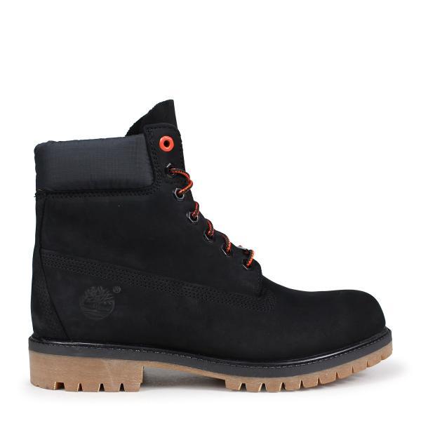 ティンバーランド ブーツ メンズ 6インチ Timberland 6-INCH PREMIUM BOOTS A1U7M Wワイズ ブラック|sneak|02