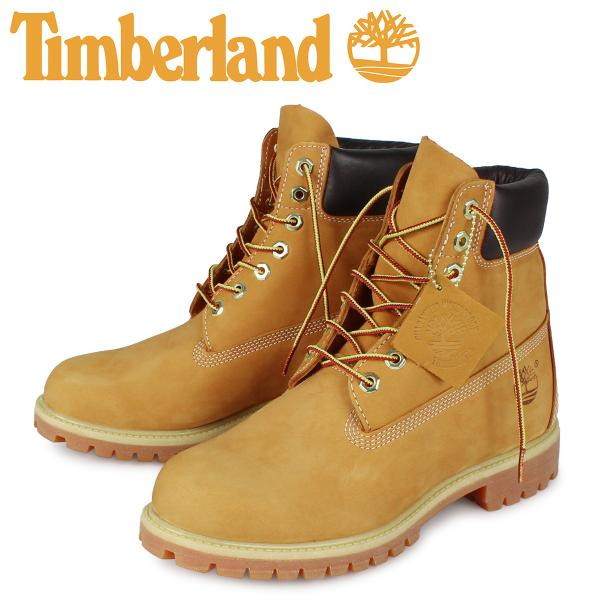 Timberland MENS 6-INCH PREMIUM WATERPROOF BOOTS ティンバーランド ブーツ メンズ 6インチ イエロー 10061|sneak