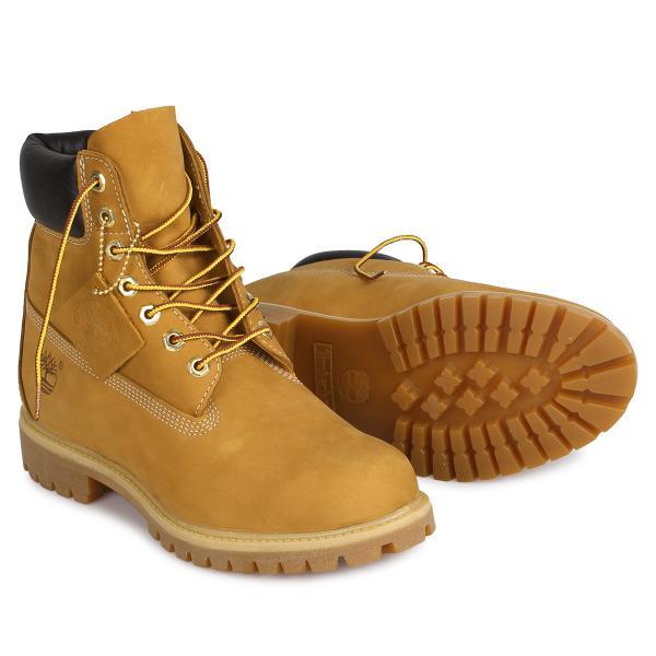 Timberland MENS 6-INCH PREMIUM WATERPROOF BOOTS ティンバーランド ブーツ メンズ 6インチ イエロー 10061|sneak|02
