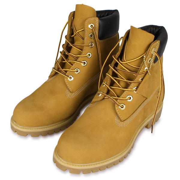Timberland MENS 6-INCH PREMIUM WATERPROOF BOOTS ティンバーランド ブーツ メンズ 6インチ イエロー 10061|sneak|03