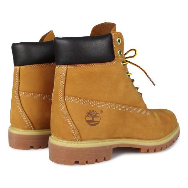 Timberland MENS 6-INCH PREMIUM WATERPROOF BOOTS ティンバーランド ブーツ メンズ 6インチ イエロー 10061|sneak|04