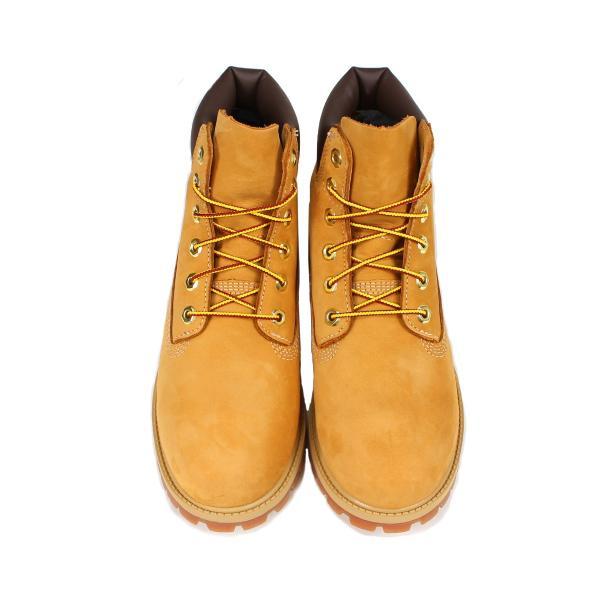 Timberland JUNIOR 6INCH PREMIUM WATERPROOF BOOTS ティンバーランド ブーツ レディース 6インチ プレミアム イエロー 12909|sneak|04