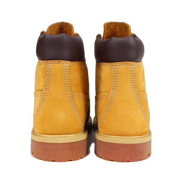 Timberland JUNIOR 6INCH PREMIUM WATERPROOF BOOTS ティンバーランド ブーツ レディース 6インチ プレミアム イエロー 12909|sneak|05