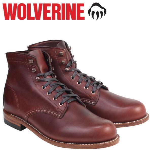 ca98ba23f62 ウルヴァリン 1000マイル ブーツ WOLVERINE ブーツ 1000 MILE BOOT Dワイズ W05299 ラスト ワークブーツ メンズ