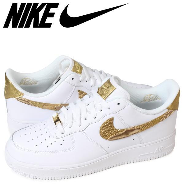 best sneakers 2a76b 2fda1 ナイキ NIKE エアフォース1 07 スニーカー メンズ AIR FORCE 1 CR7 GOLDEN PATCHWORK AQ0666- ...