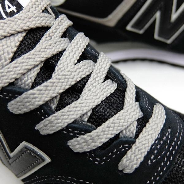 ニューバランス 574 メンズ レディース スニーカー NEW BALANCE ML574 BLACK ML574EGK 黒 ブラック スエード ランニングシューズ M574|sneaker-bouz|04