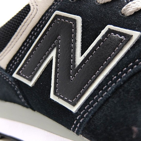 ニューバランス 574 メンズ レディース スニーカー NEW BALANCE ML574 BLACK ML574EGK 黒 ブラック スエード ランニングシューズ M574|sneaker-bouz|07