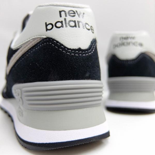 ニューバランス 574 メンズ レディース スニーカー NEW BALANCE ML574 BLACK ML574EGK 黒 ブラック スエード ランニングシューズ M574|sneaker-bouz|09