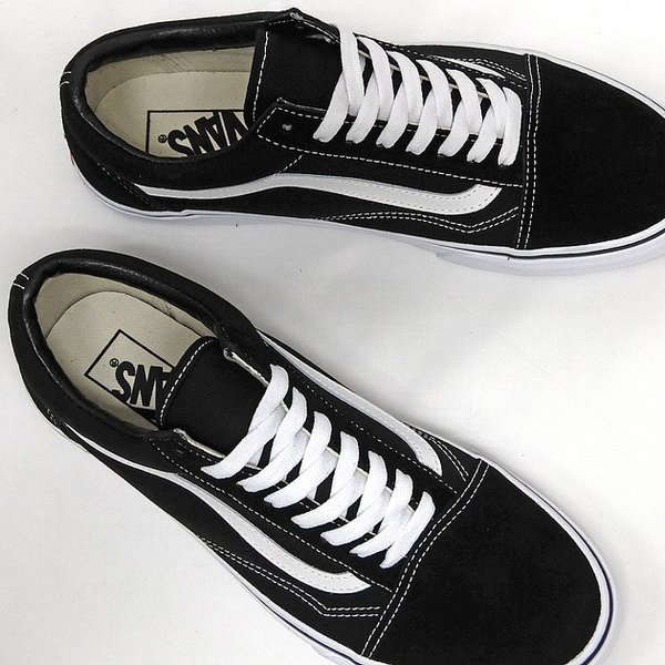 VANS バンズ オールドスクール OLD SKOOL BLACK/WHITE VN000D3HY28 VN-0D3HY28 MEN'S メンズ スニーカー OLDSKOOL 黒 ブラック スエード USA企画 あすつく|sneaker-bouz|02