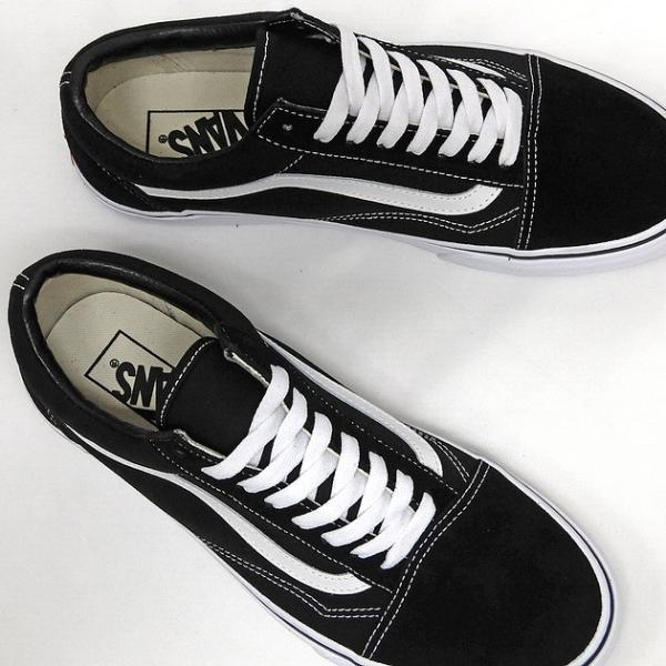 VANS バンズ オールドスクール レディースサイズ OLD SKOOL BLACK/WHITE VN000D3HY28 VN-0D3HY28 スニーカー OLDSKOOL 黒 ブラック スエード USA企画 あすつく|sneaker-bouz|02
