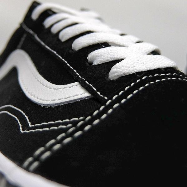 VANS バンズ オールドスクール レディースサイズ OLD SKOOL BLACK/WHITE VN000D3HY28 VN-0D3HY28 スニーカー OLDSKOOL 黒 ブラック スエード USA企画 あすつく|sneaker-bouz|06