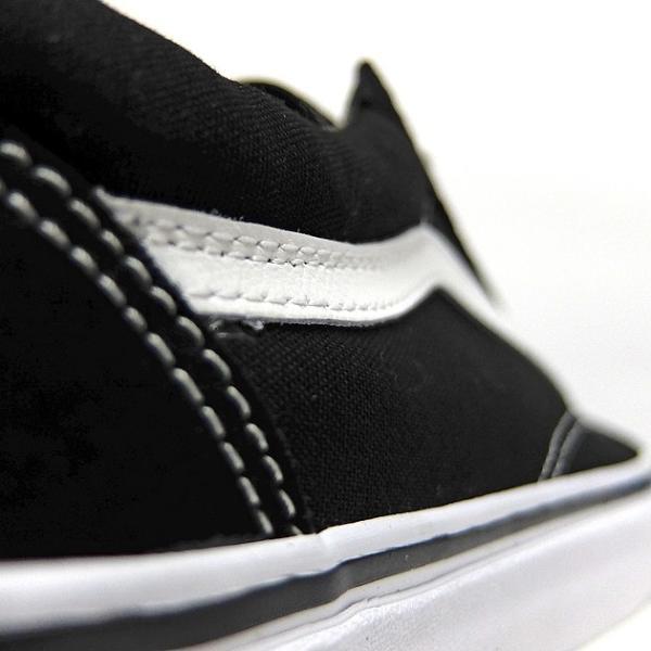VANS バンズ オールドスクール レディースサイズ OLD SKOOL BLACK/WHITE VN000D3HY28 VN-0D3HY28 スニーカー OLDSKOOL 黒 ブラック スエード USA企画 あすつく|sneaker-bouz|08