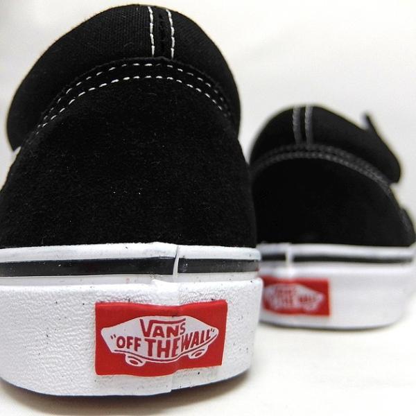 VANS バンズ オールドスクール レディースサイズ OLD SKOOL BLACK/WHITE VN000D3HY28 VN-0D3HY28 スニーカー OLDSKOOL 黒 ブラック スエード USA企画 あすつく|sneaker-bouz|09