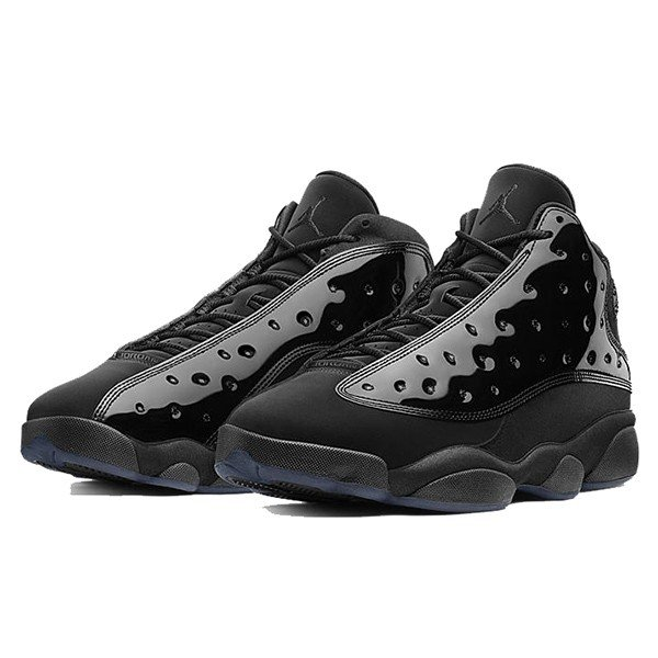 NIKE AIR JORDAN 13 RETRO CAP AND GOWN BLACK BLACK|sneaker-shop-link|02