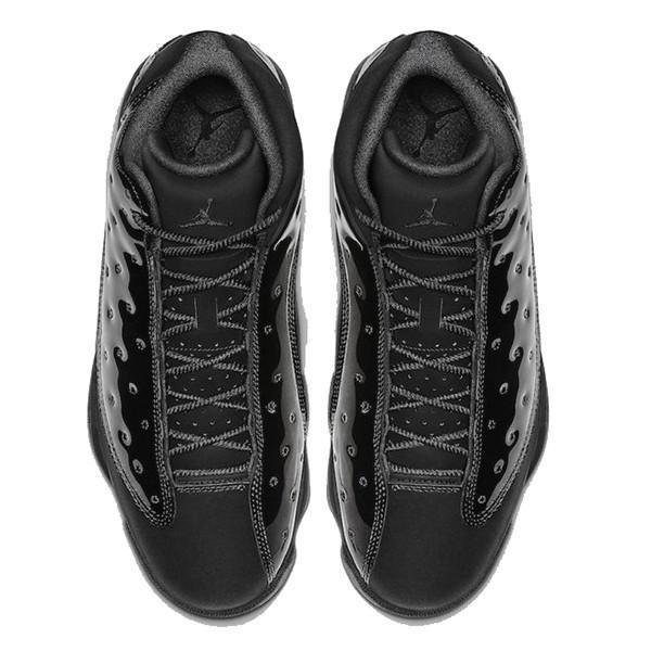 NIKE AIR JORDAN 13 RETRO CAP AND GOWN BLACK BLACK|sneaker-shop-link|03