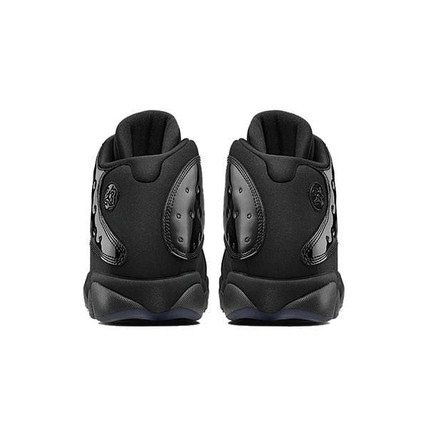 NIKE AIR JORDAN 13 RETRO CAP AND GOWN BLACK BLACK|sneaker-shop-link|04