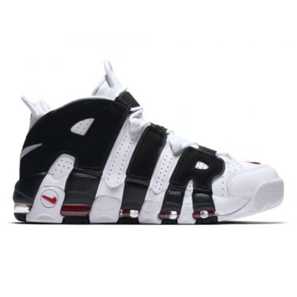NIKE AIR MORE UPTEMPO WHITE BLACK RED|sneaker-shop-link