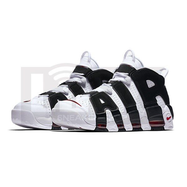 NIKE AIR MORE UPTEMPO WHITE BLACK RED|sneaker-shop-link|02