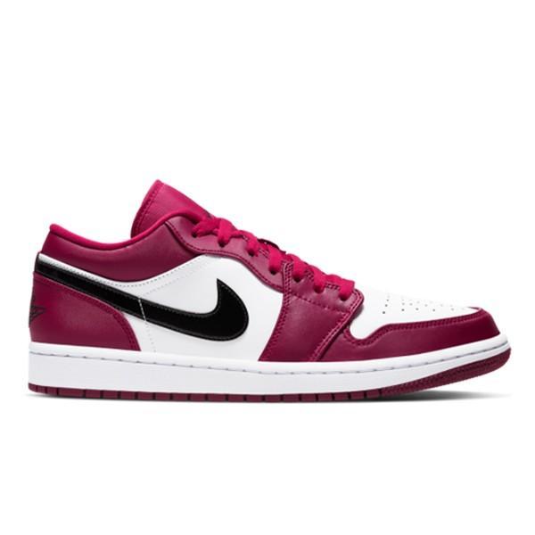 NIKE AIR JORDAN 1 LOW NOBLE RED/BLACK-WHITE|sneaker-shop-link