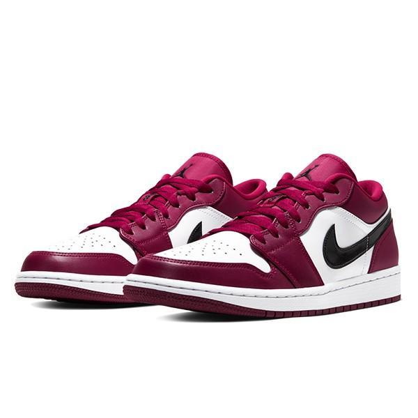NIKE AIR JORDAN 1 LOW NOBLE RED/BLACK-WHITE|sneaker-shop-link|02