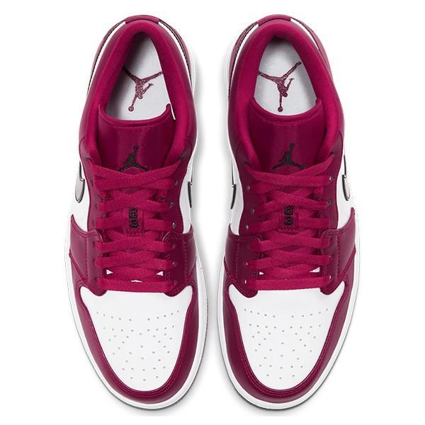 NIKE AIR JORDAN 1 LOW NOBLE RED/BLACK-WHITE|sneaker-shop-link|03