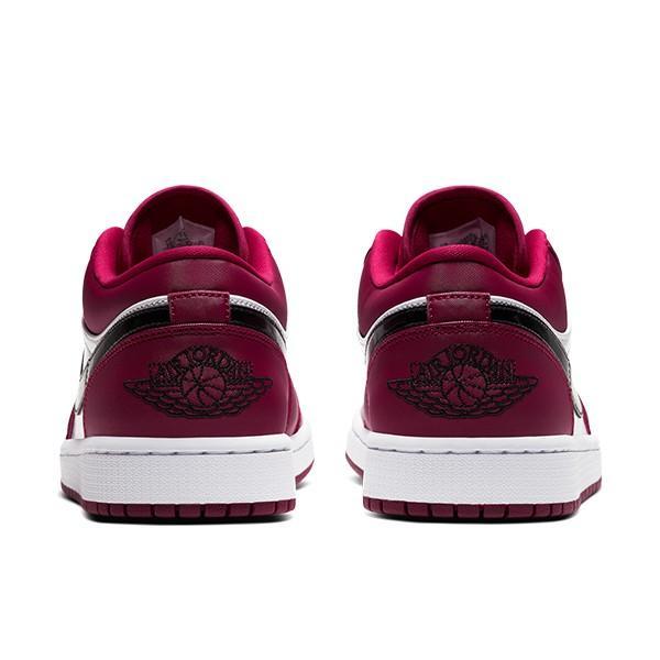NIKE AIR JORDAN 1 LOW NOBLE RED/BLACK-WHITE|sneaker-shop-link|04
