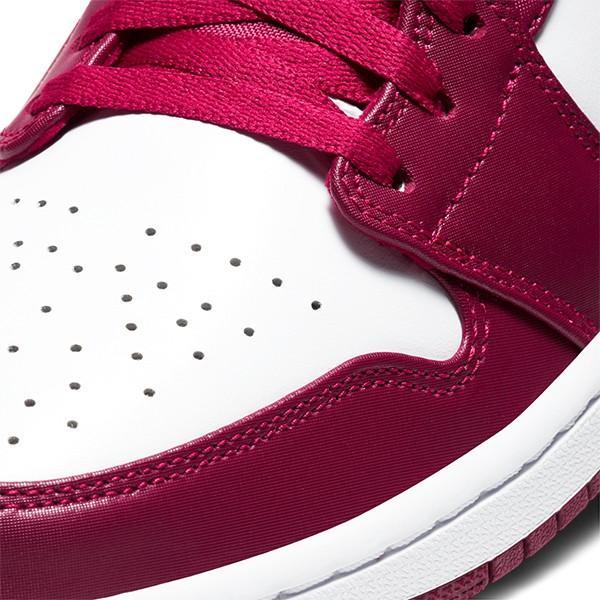 NIKE AIR JORDAN 1 LOW NOBLE RED/BLACK-WHITE|sneaker-shop-link|06