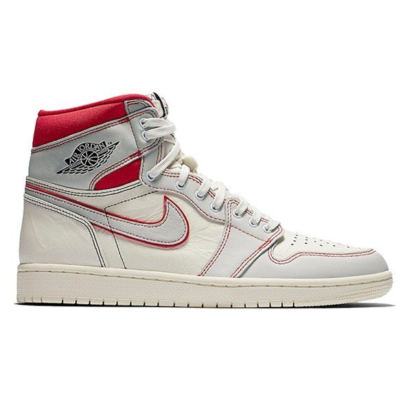 official photos 43751 c7431 NIKE AIR JORDAN 1 RETRO HIGH OG SAIL BLACK PHANTOM UNIVERSITY  RED|sneaker-shop ...