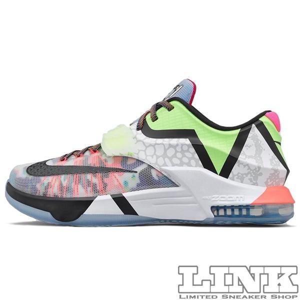 NIKE KD 7 SE WHAT THE KD7 MULTI COLOR/BLACK HORIZON sneaker-shop-link 02