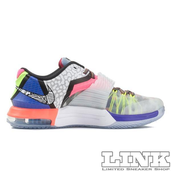 NIKE KD 7 SE WHAT THE KD7 MULTI COLOR/BLACK HORIZON sneaker-shop-link 04