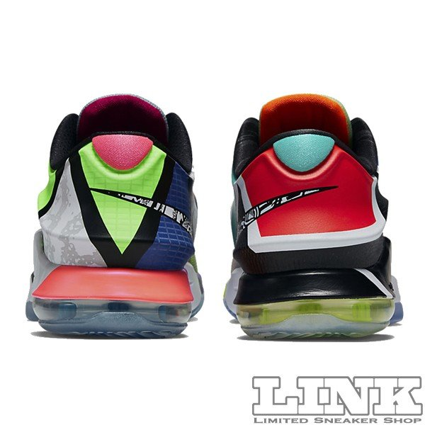 NIKE KD 7 SE WHAT THE KD7 MULTI COLOR/BLACK HORIZON sneaker-shop-link 05