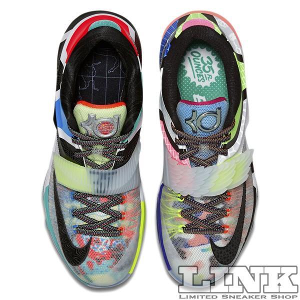 NIKE KD 7 SE WHAT THE KD7 MULTI COLOR/BLACK HORIZON sneaker-shop-link 06