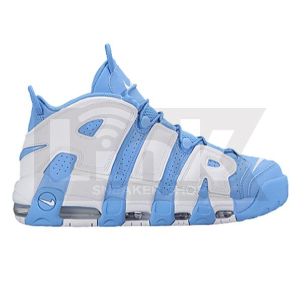 NIKE AIR MORE UPTEMPO UNC UNIVERSITY BLUE/WHITE sneaker-shop-link